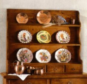 Faber klasika Kolekcijos | Baldų kolekcijos art 517/A Lėkščių lentyna