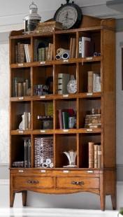 Faber klasika Kolekcijos | Baldų kolekcijos art 6113 Knygų lentyna