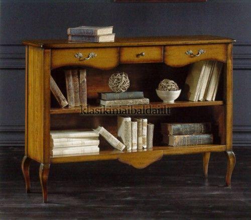 Klasikiniai baldai art 286 Knygų lentyna