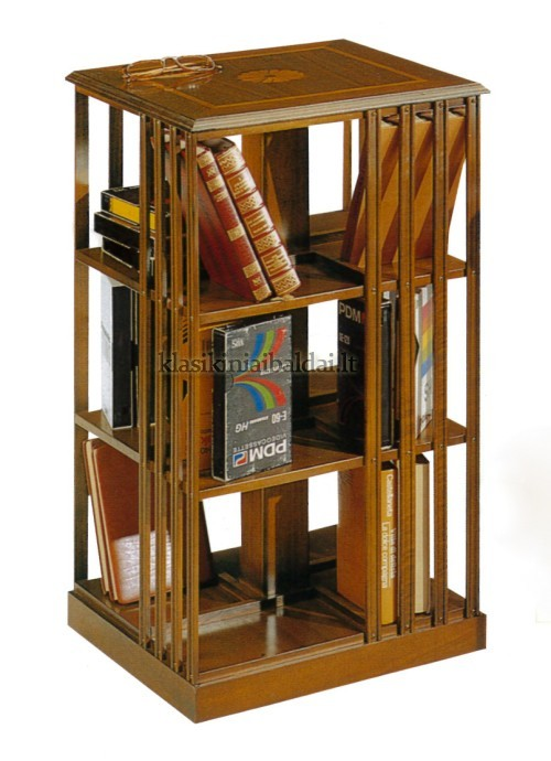 Klasikiniai baldai art 663 Knygų lentyna