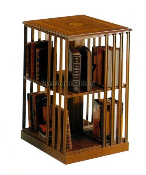 Klasikiniai baldai art 665 Knygų lentyna