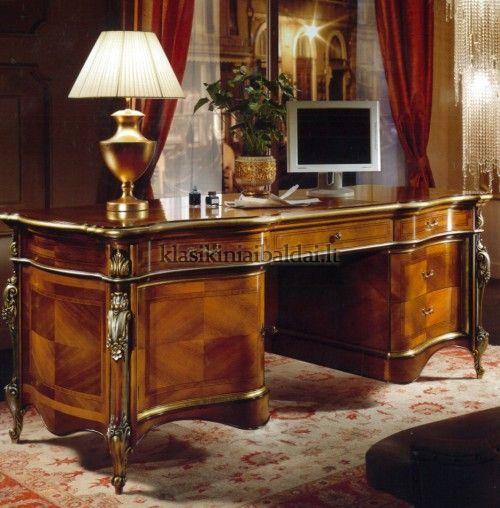 Klasikiniai svetaines baldai art 0235/N Rašomasis stalas