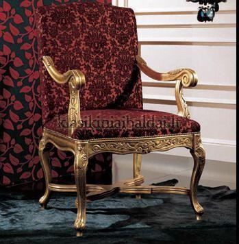 Klasikiniai svetaines baldai art 0350P Krėslas