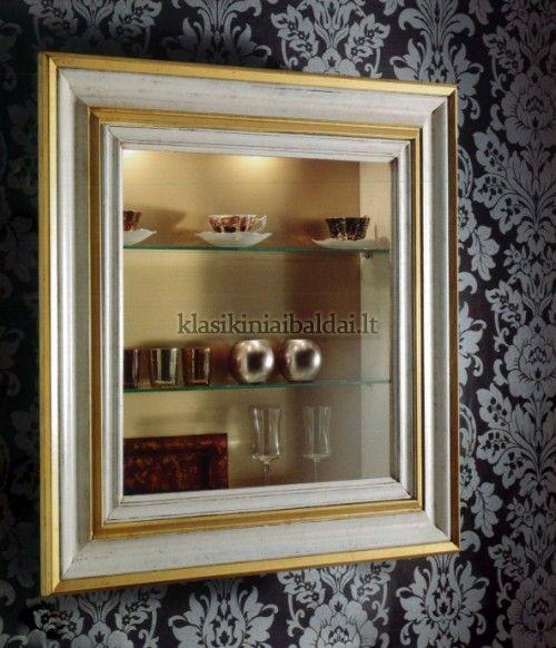 Klasikiniai svetaines baldai art H116 Spintelė