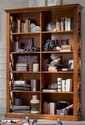 Klasikiniai svetaines baldai ETERNITY art H6116 Knygų lentyna