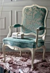 Klasikiniai svetaines baldai ETERNITY art H6150 Krėslas