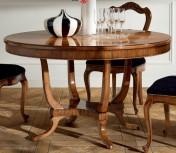 Klasikiniai svetaines baldai ETERNITY art H6165 Stalas apvalus