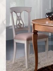 Klasikiniai svetaines baldai ETERNITY art H928 Kėdė