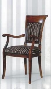 Klasikiniai svetaines baldai Infinity art 0167A Kėdė