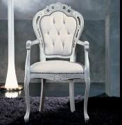 Klasikiniai svetaines baldai Infinity art 0209A Kėdė