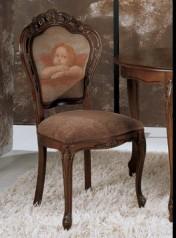 Klasikiniai svetaines baldai Infinity art 0209S Kėdė