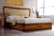 Klasikiniai svetaines baldai Klasikiniai baldai art 2076/A/P Lova