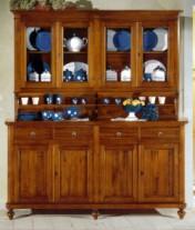 Klasikiniai svetaines baldai Vitrinos art 1621/OF Vitrina