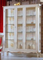 Klasikiniai svetaines baldai Vitrinos art 725 Vitrina