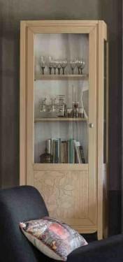 Klasikiniai svetaines baldai Vitrinos art 2008T Vitrina kairinė