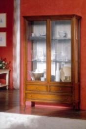 Klasikiniai svetaines baldai Vitrinos art 720 Vitrina
