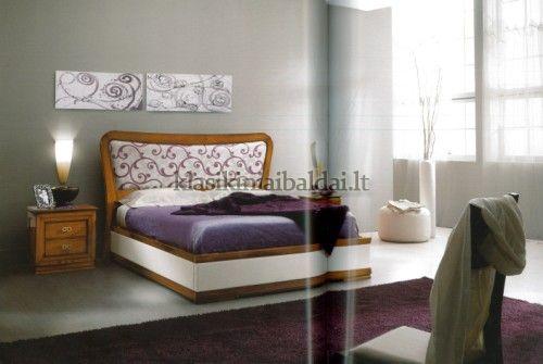 Klasikinio stiliaus baldai art 2078/A Lova