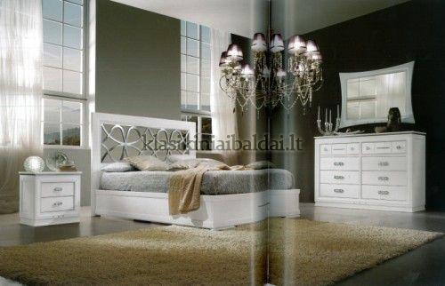 Klasikinio stiliaus baldai art 2110/A Lova