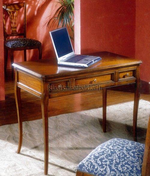 Klasikinio stiliaus baldai art 724 Rašomasis stalas