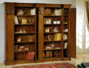 Klasikinio stiliaus baldai Furniture store art 756 Knygų spinta