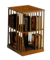 Klasikinio stiliaus baldai Knygų lentynos art 665 Knygų lentyna