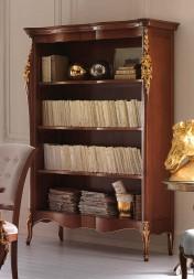 Klasikinio stiliaus baldai Knygų lentynos art 1018T Knygu lentyna