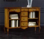 Klasikinio stiliaus baldai Knygų lentynos art 285 Knygų lentyna