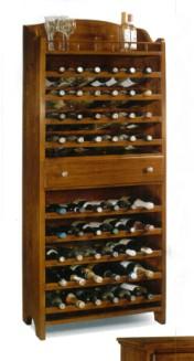 Klasikinio stiliaus baldai Lovos art 1215/A Vyno lentyna