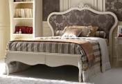 Klasikinio stiliaus baldai Lovos art 1040T Lova dvigule