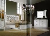 Klasikinio stiliaus baldai Lovos art 2101 Lova