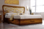Klasikinio stiliaus baldai Lovos art 2076/A/P Lova