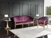 Klasikinio stiliaus baldai Sofos, foteliai art 9508E Sofa
