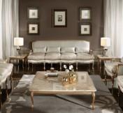 Klasikinio stiliaus baldai Sofos, foteliai art 9788F Sofutė