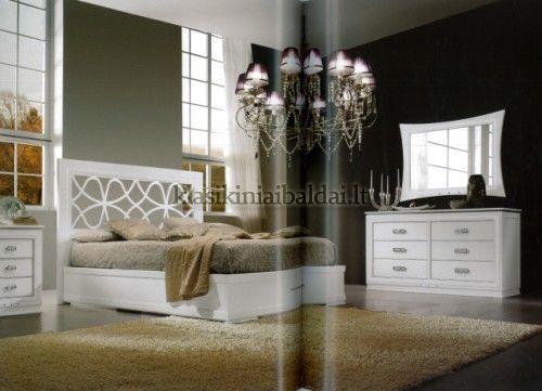 Klasikinio stiliaus interjeras art 2101/180 Lova