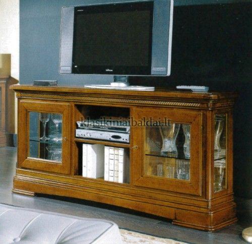 Klasikinio stiliaus interjeras art 524 TV baldas