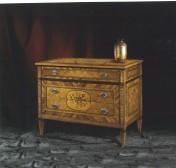 Klasikinio stiliaus interjeras Komodos art 1050 Komoda
