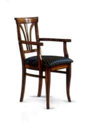 Klasikinio stiliaus interjeras Komodos art 1129 Kėdė