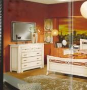 Klasikinio stiliaus interjeras Komodos art 2200 Komoda