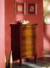 Klasikinio stiliaus interjeras Komodos art 814 Komoda