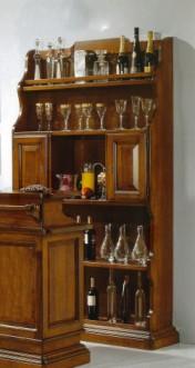 Klasikiniu baldu gamyba Batų dėžės art 1224/A Baro lentyna