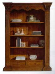 Klasikiniu baldu gamyba Batų dėžės art 162/A Knygų spinta