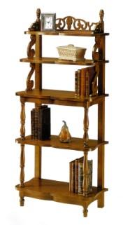 Klasikiniu baldu gamyba Batų dėžės art 677 Knygų lentyna