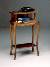 Klasikiniu baldu gamyba Batų dėžės art 163P Telefono staliukas