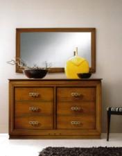 Klasikiniu baldu gamyba Batų dėžės art 2085/P Veidrodis
