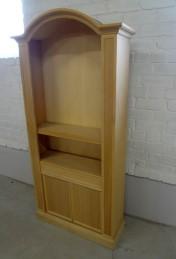 Klasikiniu baldu gamyba Batų dėžės B106 Knygu lentyna 95x31x193