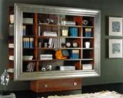 Klasikiniu baldu gamyba Knygų spintos art 888 Knygų spinta