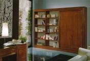 Klasikiniu baldu gamyba Knygų spintos art 2173 Knygų spinta
