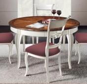Sendinti baldai Stalai art H6174 Stalas apvalus prasiilgina