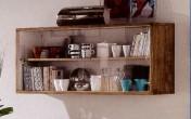 Sendinti klasikiniai baldai Kiti įvairūs baldai art 3262/A Lentyna su stiklu