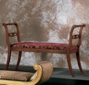 Sendinti klasikiniai baldai Seven Sedie art 0120Q Suoliukas